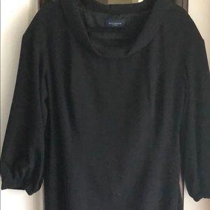 Piazza Sempione Classic Black Dress